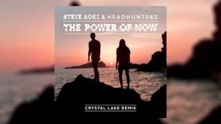 Steve Aoki & Headhunterz - The Power Of Now (Crystal Lake Remix) [Cover Art]