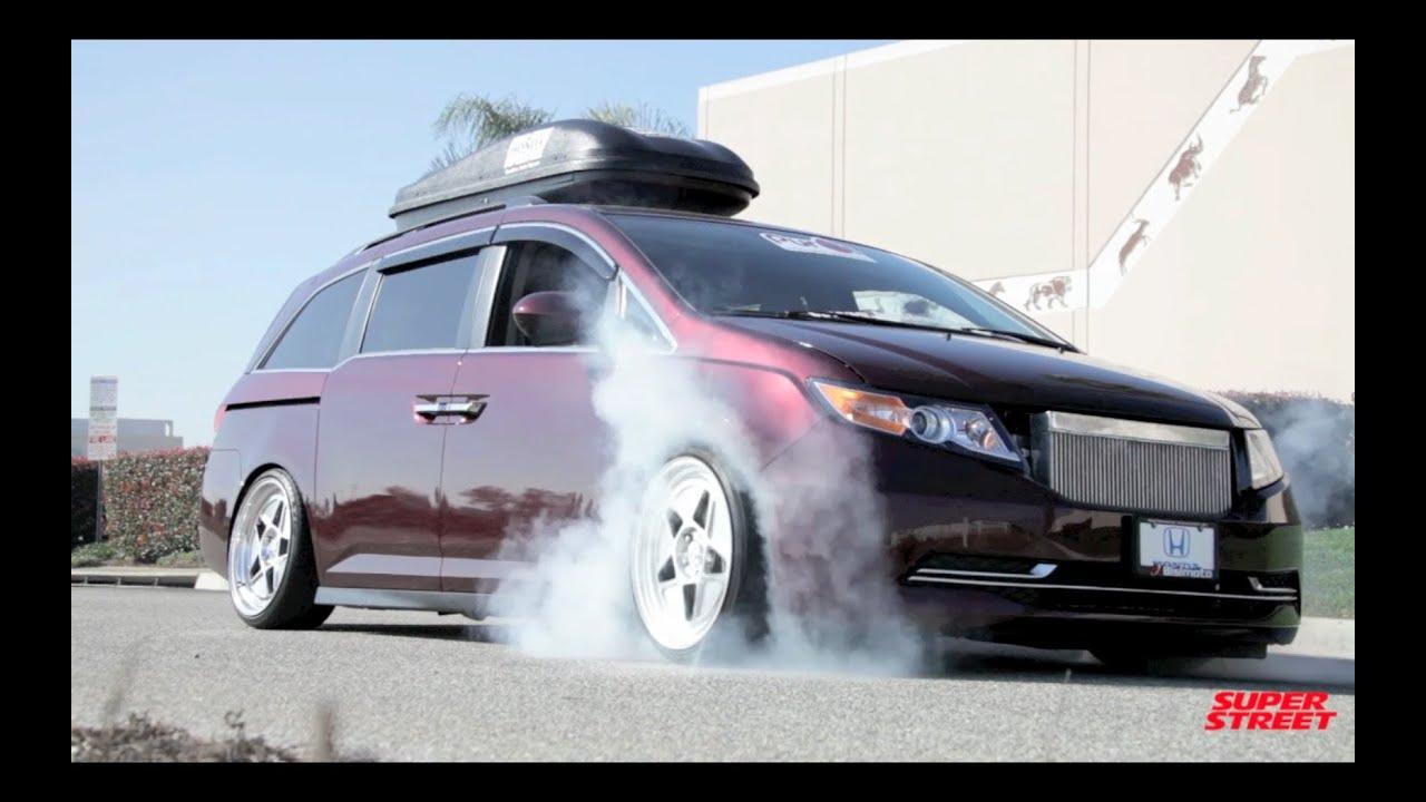 1000 Hp Bisimoto Honda Odyssey Van Burnouts Youtube