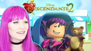 Would You Adopt MAL from DISNEY DESCENDANTS?! Roblox Social Experiment