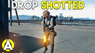 DROP SHOTTED - PLAYERUNKNOWN'S BATTLEGROUNDS Solo/Duo Gameplay (Stream Highlight)