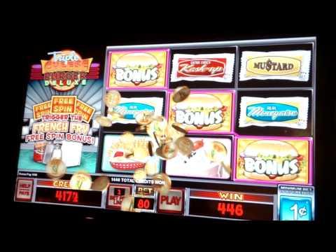 cheeseburger deluxe slot machine