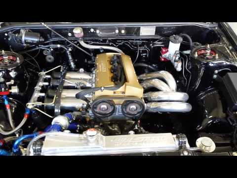 AE86 1600cc Hasselgren Atlantic engine 1st start