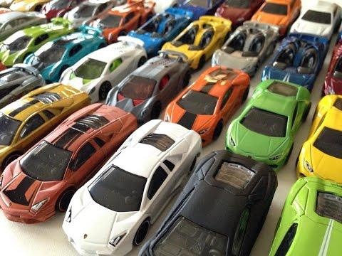 Lamborghini Hotwheels Collection