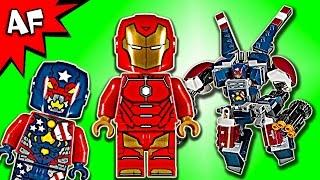 Lego Marvel IRON MAN Detroit Steel Strikes 76077 Speed Build