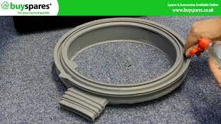 How to Replace a Washer Dryer Door Seal (Samsung)
