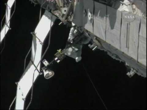 STS-129: ELC2 Installation & EVA-2 (time lapse)
