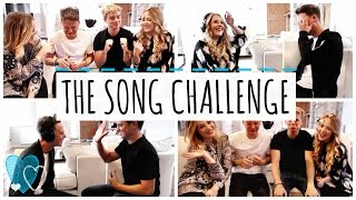 One of LucyAndLydia's most viewed videos: THE SONG CHALLENGE WITH JACK MAYNARD & CONOR MAYNARD | LucyAndLydia