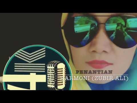Penantian - Zubir Ali - Lirik (cover By Raimanda)