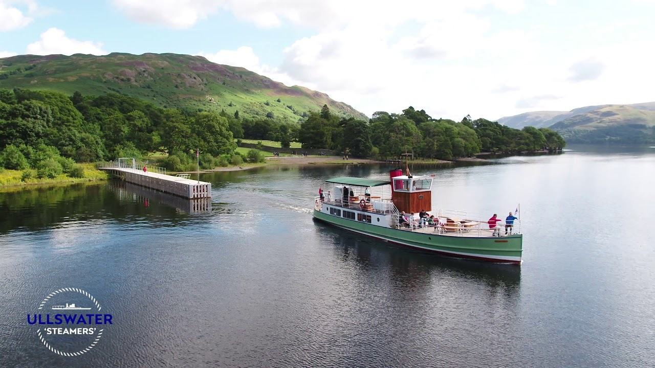Ullswater 'Steamers' | Attraction in the Lake District | Cumbria | UK