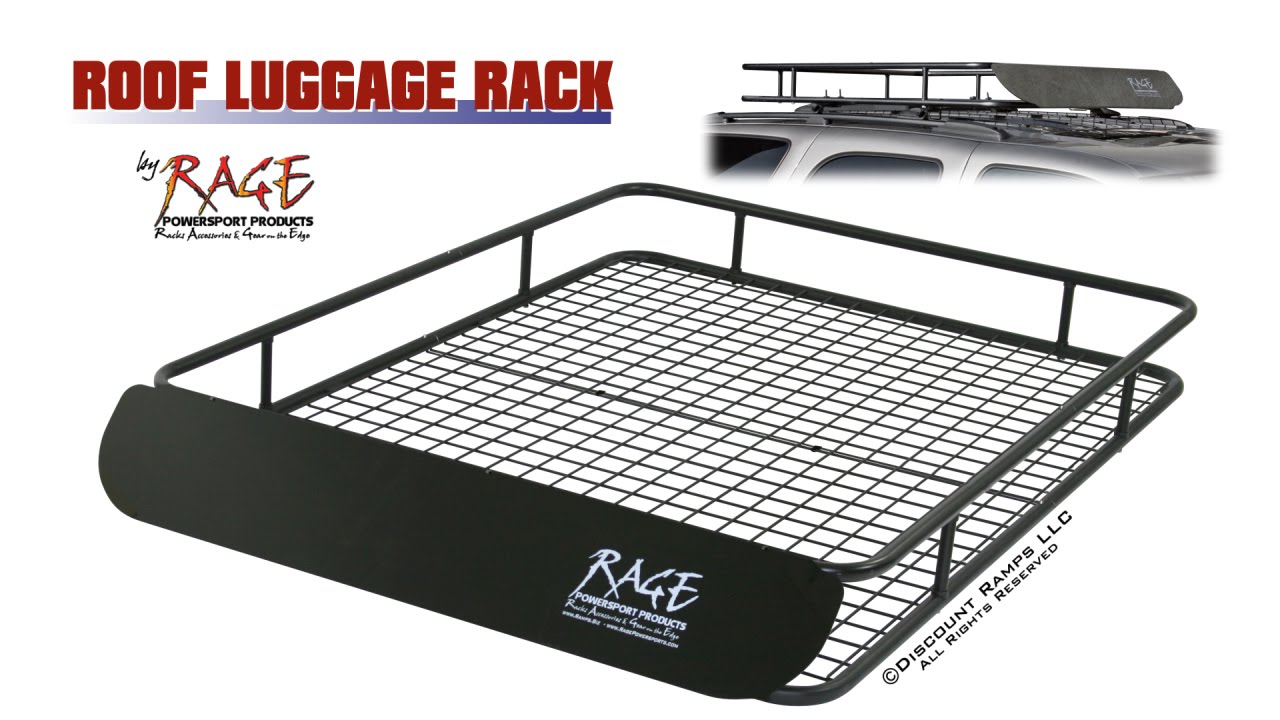 High Capacity Roof Luggage Rack