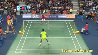 Badminton Highlights - Lin Dan vs Lee Chong Wei - Asian Games 2014 MS SF