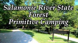 Salamonie River State Forest Primitive Campground