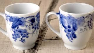 도자기핸드페인팅 청화백자 도예 ceramics