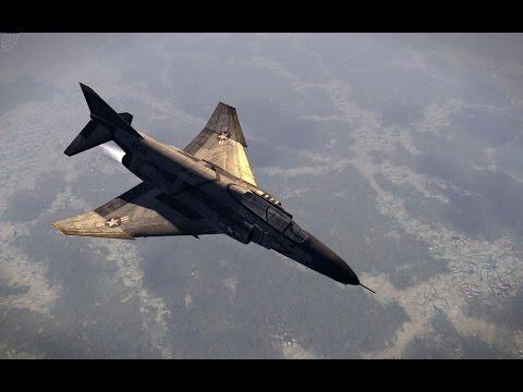 Воздушные Бои во Вьетнаме в Красивой Игре про Самолеты и Вертолеты! Air Conflicts: Vietnam