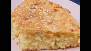 Быстрый и легкий рецепт сырного пирога   Пирог с сыром за пол часа