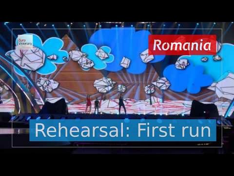 Ilinca ft. Alex Florea - Yodel It! - Romania - Live - Full Rehearsal - Eurovision 2017 (4K)