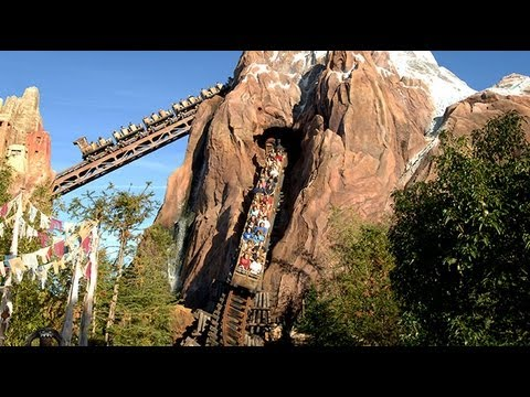 EXPEDITION EVEREST *HD POV* DISNEY'S ANIMAL KINGDOM THE YETI RIDE ...