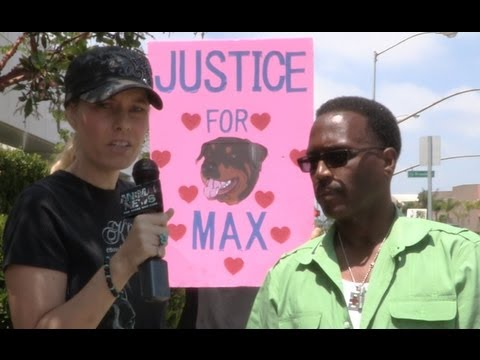 Justice for Max Protest at Hawthorne, CA Police Station - 7/28/2013