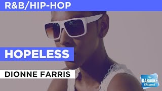 Hopeless : Dionne Farris | Karaoke with Lyrics