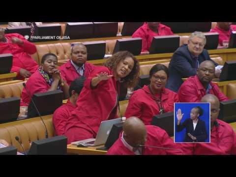 FLOYD SHIBAMBU & OTHER EFF MP's VS DEPUTY SPEAKER