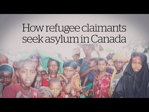 How refugees claimants seek asylum in Canada [CBC Explainer]