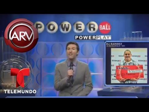 Dan a conocer números que más veces ganan el Powerball | Al Rojo Vivo | Telemundo