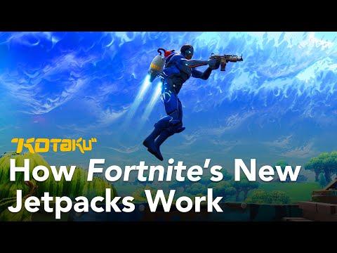 How Fortnite's New Jetpacks Work