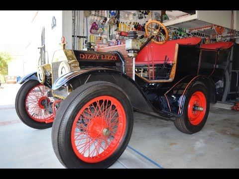 "Sold:  1908 Model T ""DIZZY LIZZY"" Designed for Walt Disney in the 1960"