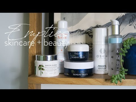 Skincare + Beauty Empties | + Review