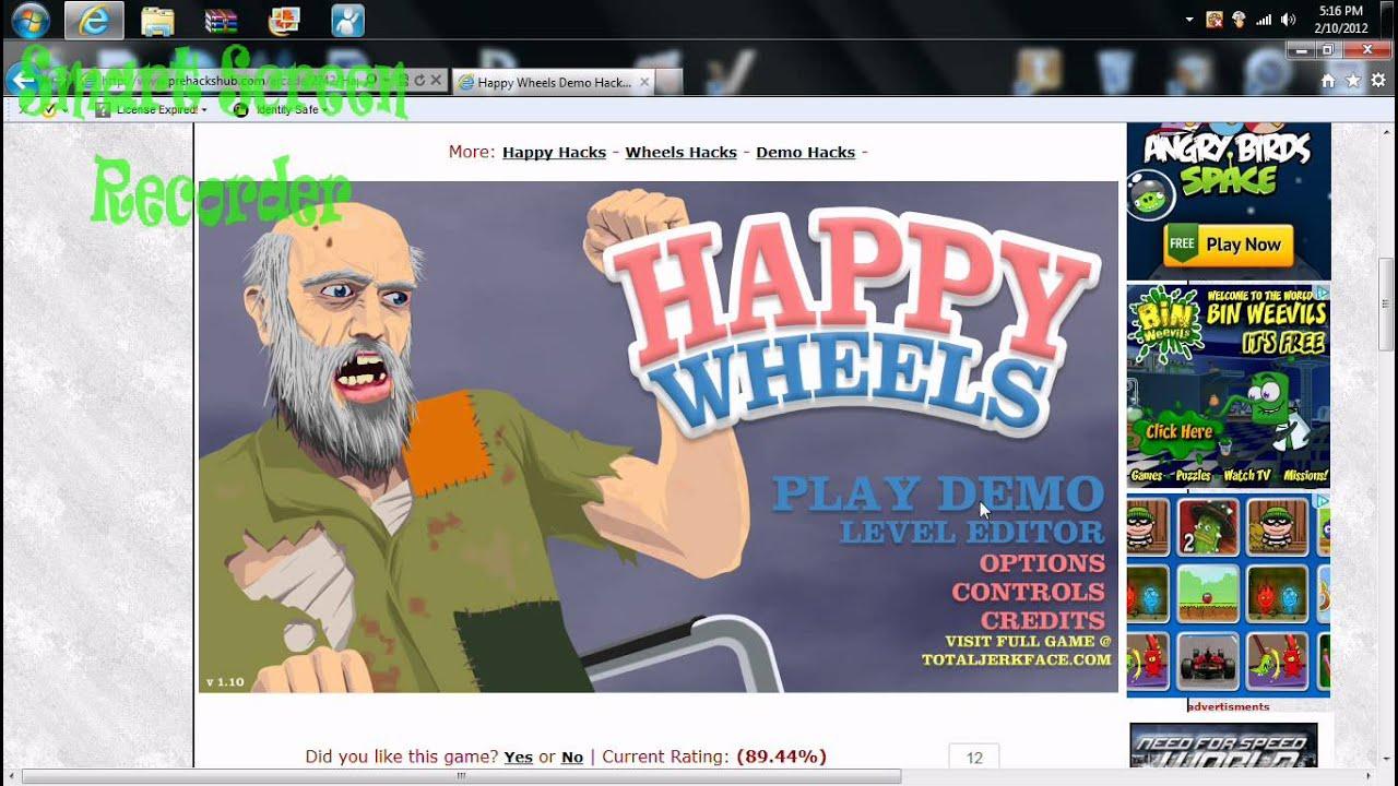 Happy Wheels Hacked Youtube