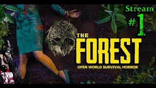 The Forest 🌳👺☠️Horror👹🌲🔪Join Me🤗All DLC💸PC💻Max✨#1st Stream🎋