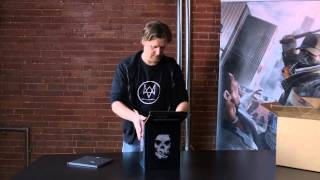 Watch_Dogs Limited Edition Unboxing