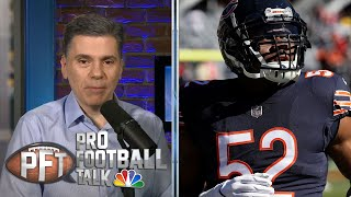 PFT Overtime: NFL Free Agency Roundup, Bears free up cap space, Rosen critcized | NBC Sports