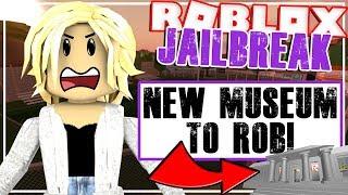 Roblox Jailbreak NEW MUSEUM TO ROB?! (new update!!)