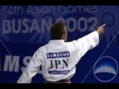 JUDO 2002 Asian Games: Yoshihiro Akiyama 秋山 成勲 (JPN) - Dong-Jin Ahn (KOR)