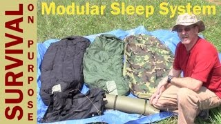 Military Sleep System Sleeping Bag Review - Survival Gear