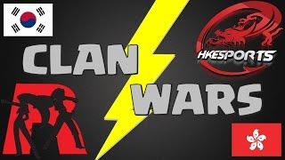 """국가 클랜전! 한국 실력파클랜 """"Rocket Pong"""" vs 홍콩대표 세계랭커클랜 """"HKeSports"""" 초 대박경기!!! Clash Royale - 클래시로얄 [PongTV]"""