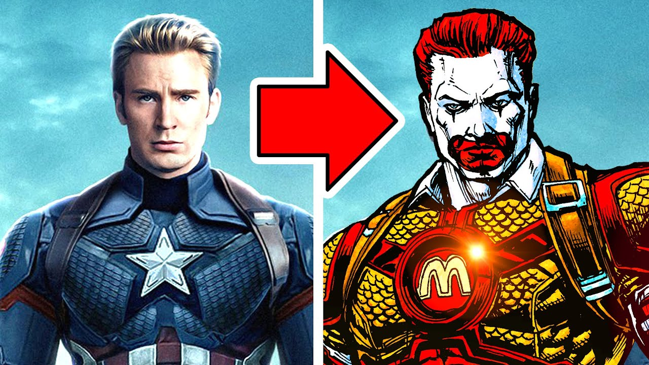 Drawing the FAST FOOD AVENGERS ENDGAME!!!