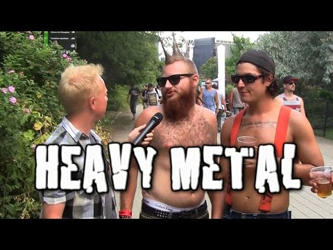 Joe Goes To A Heavy Metal Festival in Montreal