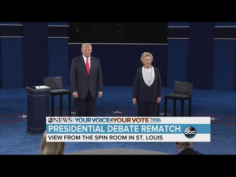 2nd Debate Highlights | Trump and Clinton Trade Insults During Intense Showdown