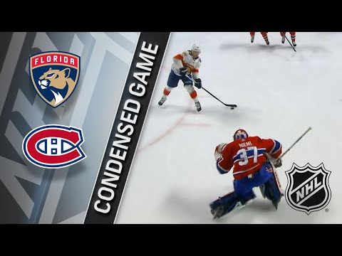03/19/18 Condensed Game: Panthers @ Canadiens