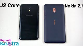 Samsung Galaxy J2 Core vs Nokia 2.1 SpeedTest and Camera Comparison