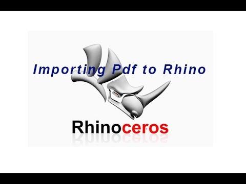 Rhinoceros Tutorial Pdf