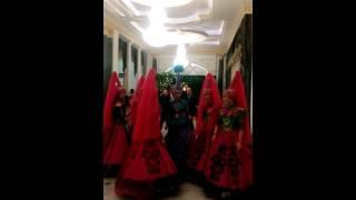 Начало свадьбы в Атырау