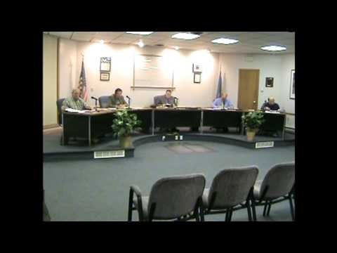Rouses Point Village Board Meeting   4-6-09
