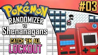 Pokemon Randomizer Catch 'Em All LOCKOUT vs Shenanagans #3