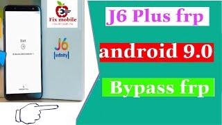 Xóa xác minh tài khoản google samsung j6+ androi 9 0 l Samsung J6 Plus Android 9 Frp Bypass