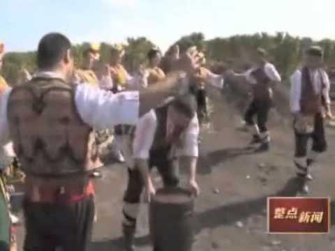 Bulgarian Wines on Chinese TV