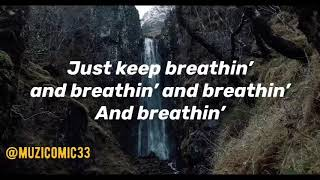 Ariana Grande | Bla.Zè | Breathin (Lyric Video)