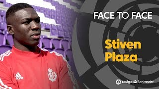 Face to Face: Stiven Plaza